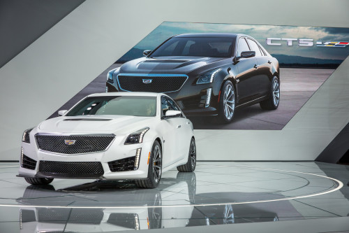 Cadillac CTS-V and ATS-V Crystal White Frost Edition Limited to 99 units