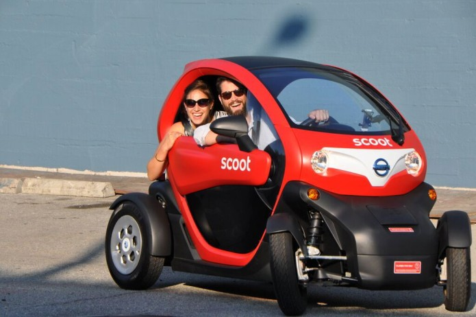 Nissan and Scoot bring four wheel Scoot Quads to San Francisco