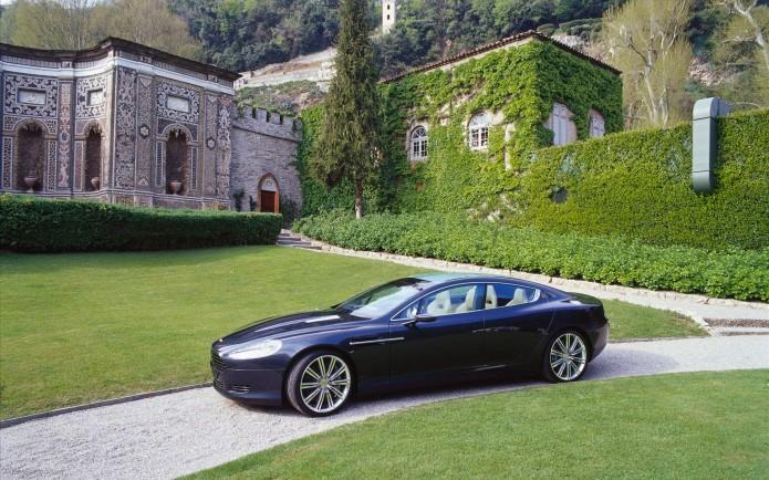 Aston Martin debuts all-electric RapidE concept