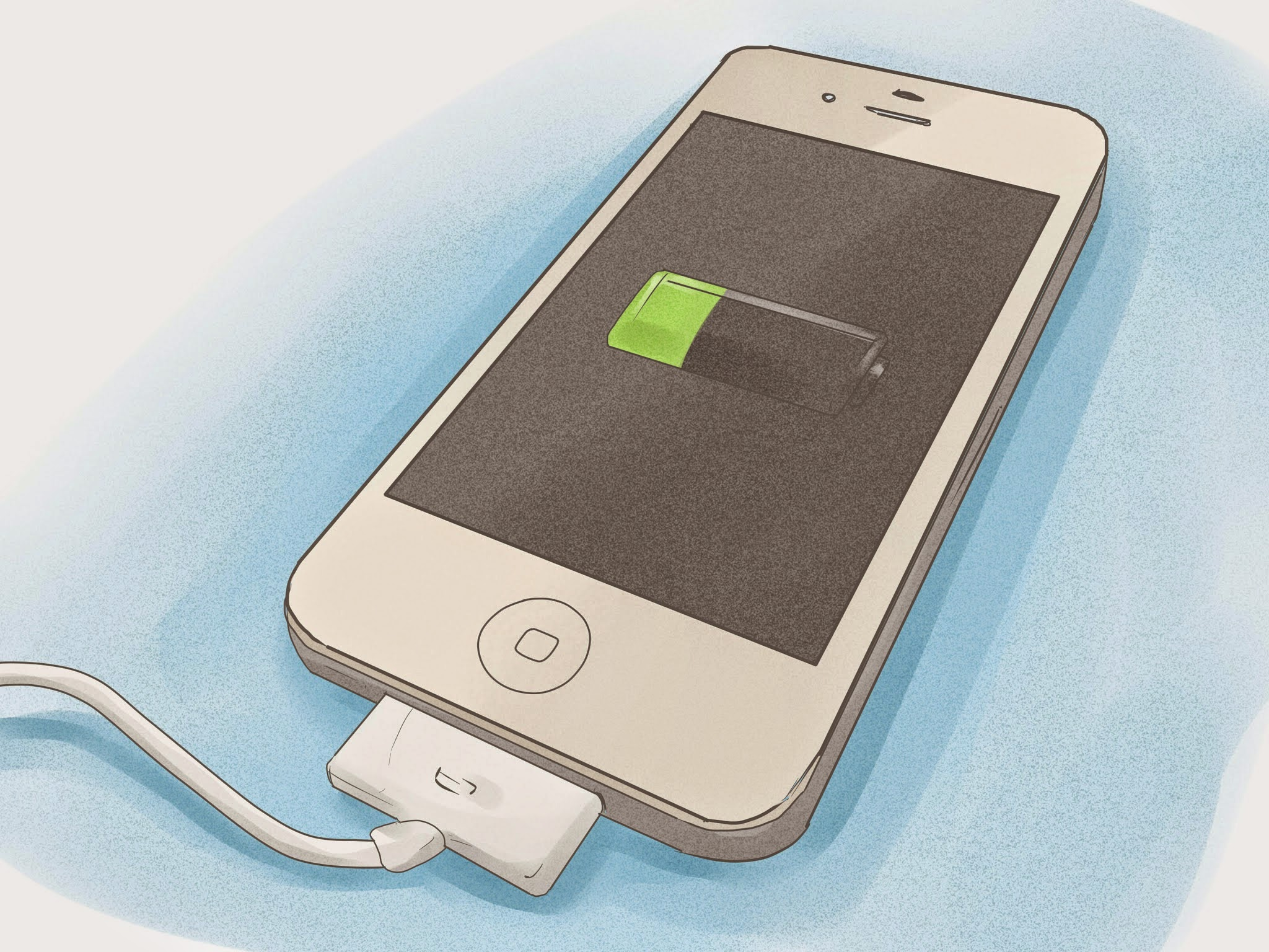 Картинки как заряжать телефон