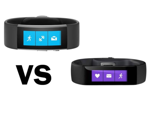Microsoft Band vs Band 2 comparison: What's the difference between the old and new Microsoft Bands?