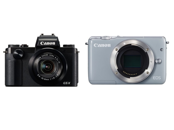 Canon PowerShot G5 X, EOS M10 silently appear online