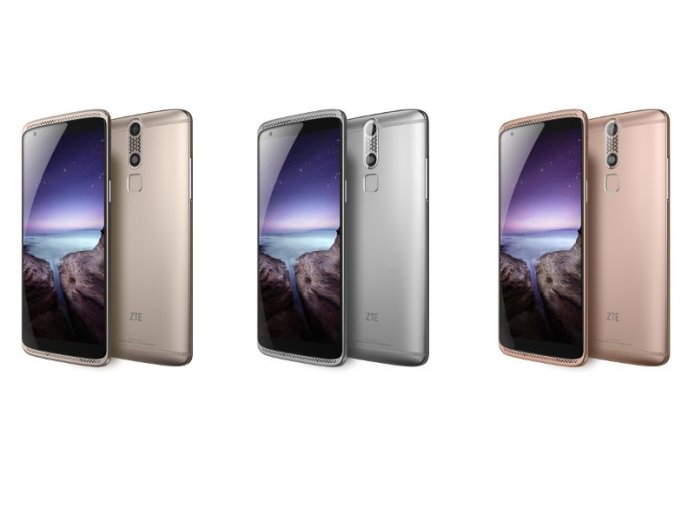"ZTE launches ""3D touch"" AXON mini, Tencent OS AXON Watch"