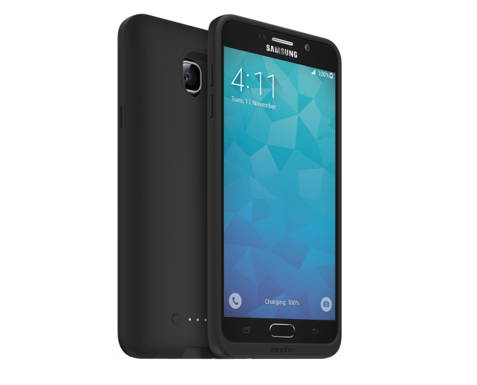 Galaxy Note 5 gets a Mophie Juice Pack for massive battery time