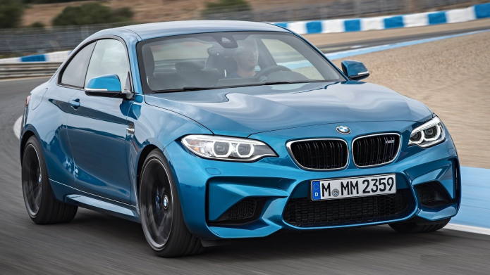 BMW M2 Coupe unveiled: the latest M family powerhouse