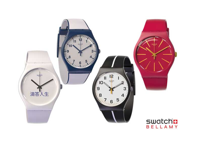 Swatch's new non-smart watch does mobile payments in China
