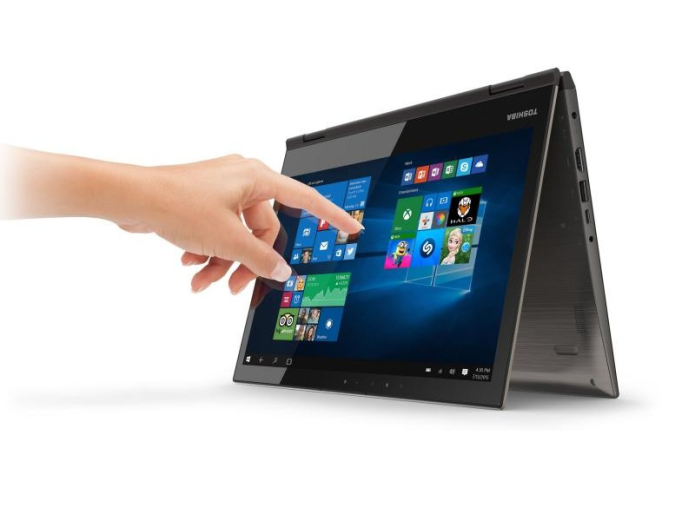 Toshibal Satellite Radius 12 convertible laptop flaunts 4K