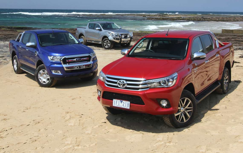 2015 Toyota HiLux, Ford Ranger and Mazda BT-50 review