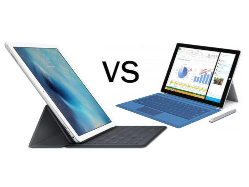iPad Pro vs Surface Pro 3 vs Surface Pro 4 comparison: Windows or iOS 9… which tablet is best?