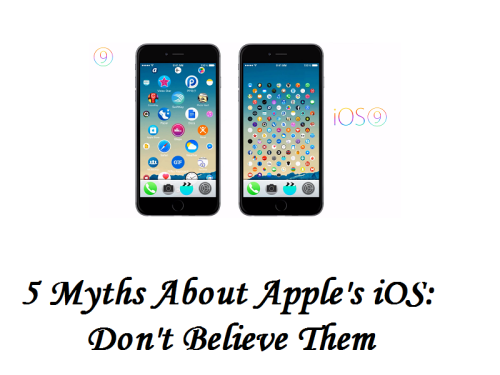 5 Myths About Apple's iOS: Don't Believe Them