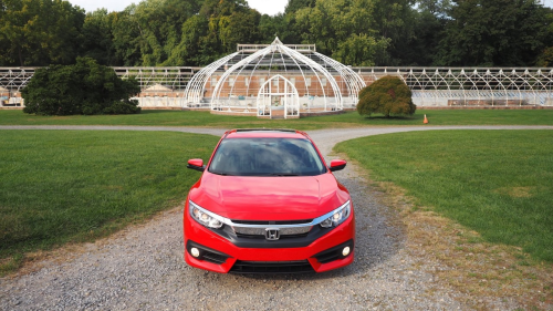 2016 Honda Civic first drive