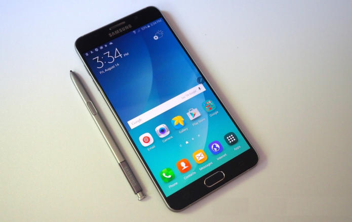 Galaxy Note 5 teardown reveals difficult to repair LCD