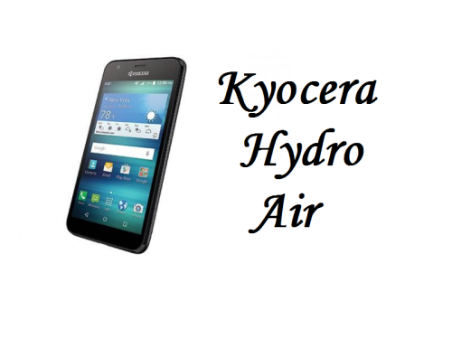 Kyocera Hydro Air smartphone is Walmart Exclusive with AT&T