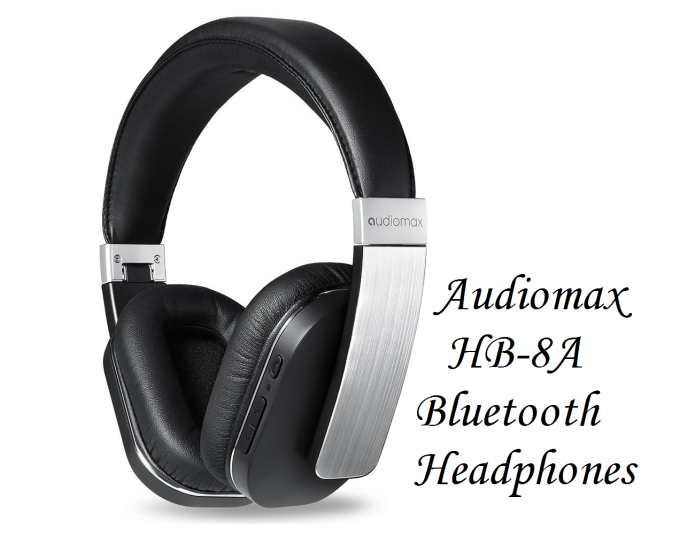Audiomax HB-8A Bluetooth Headphones review: Elegance meets good audio quality and impressive battery life in these budget-friendly wireless headphones