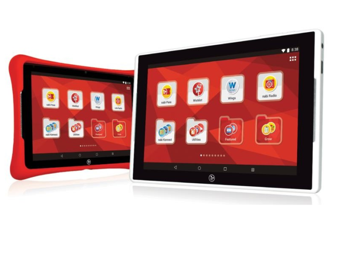 Fuhu nabi ELEV-8 tablet wants to take kids to new heights