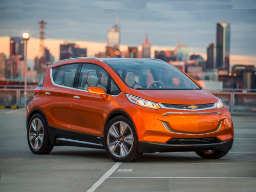 LG, GM team up to develop Chevrolet Bolt EV