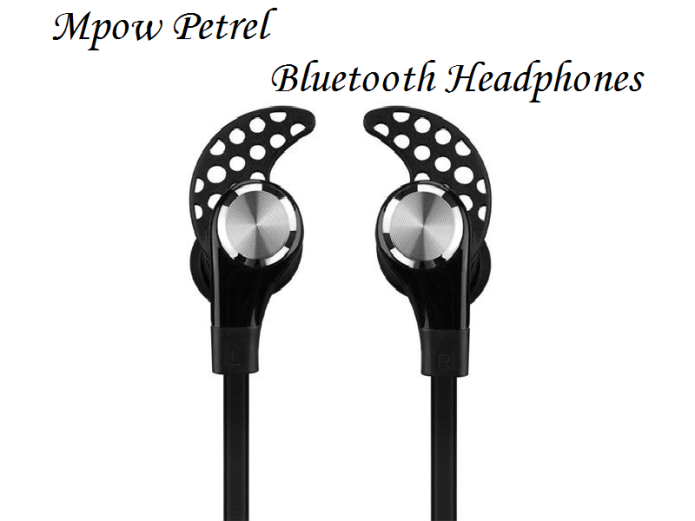 Mpow Petrel Bluetooth Headphones review - wireless in-ear headphones for runners