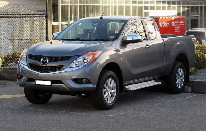 2015 Mazda BT-50 off-road review - outback South Australia