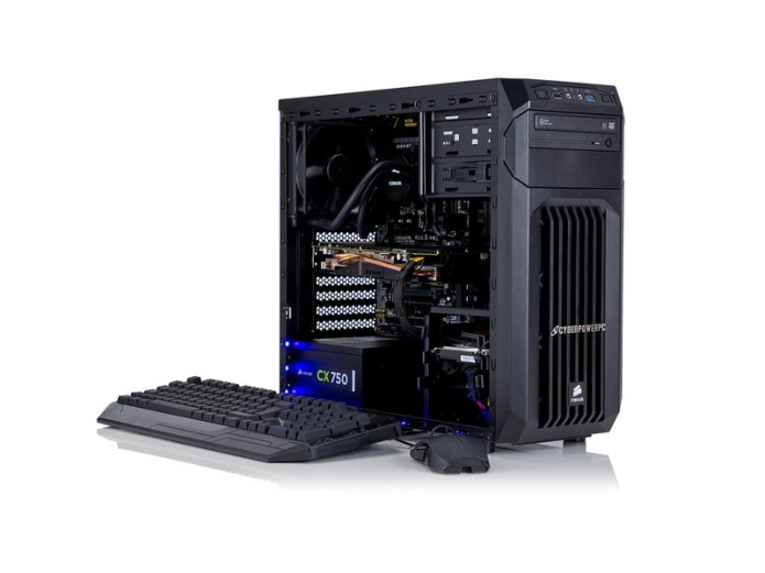 Cyberpower Infinity X55 SE review: Skylake processor + AMD graphics = one power-hungry gaming rig