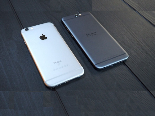 HTC One A9 vs iPhone, a brief history