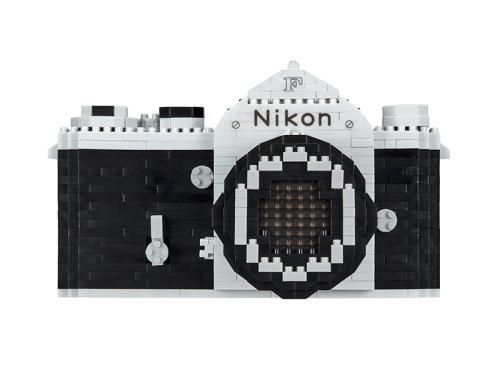Nikon launches Nanoblocks version of first SLR camera