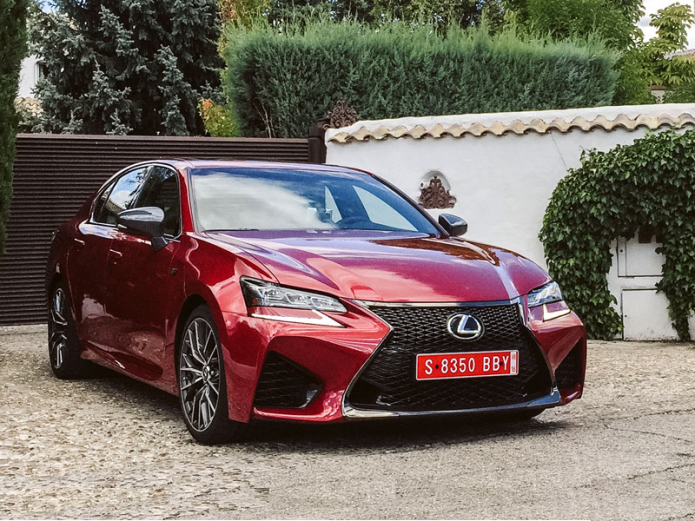 2016 Lexus GS F First Drive