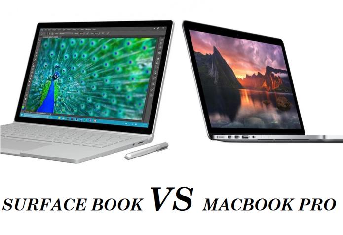 Surface Book vs. MacBook Pro: It isn't twice as fast. It's three times as fast