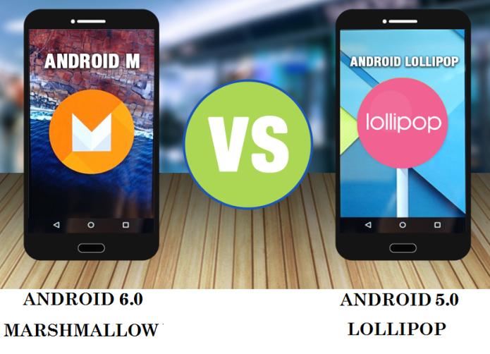 Android 6.0 Marshmallow vs 5.0 Lollipop head-to-head