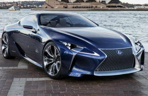 Lexus LF-FC Concept is Japan's sleek answer to the S-Class