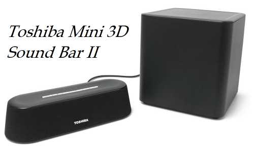 Toshiba Mini 3D Sound Bar II review