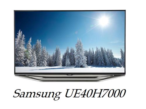 Samsung UE40H7000 review