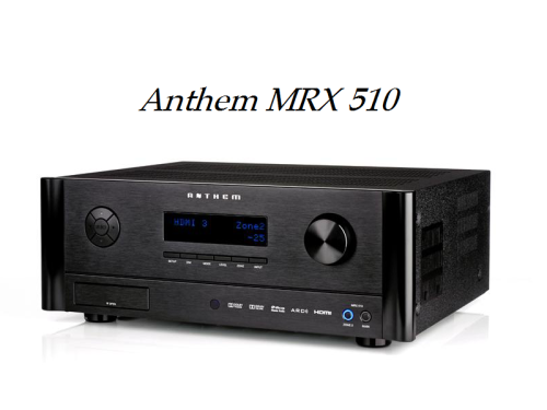 Anthem MRX 510 review