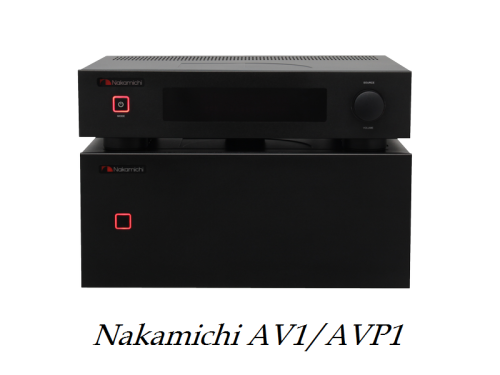 Nakamichi AV1/AVP1 review