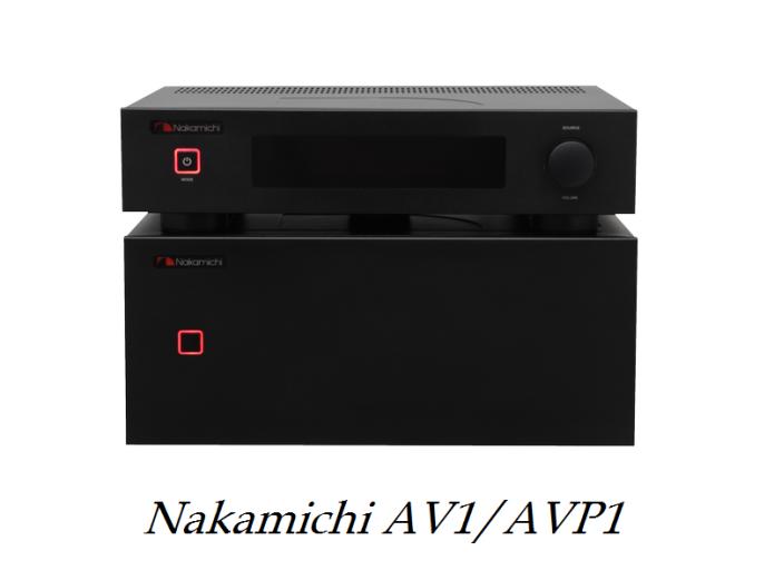 Nakamichi AV1/AVP1 review
