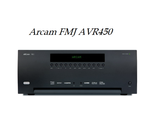 Arcam FMJ AVR450 review
