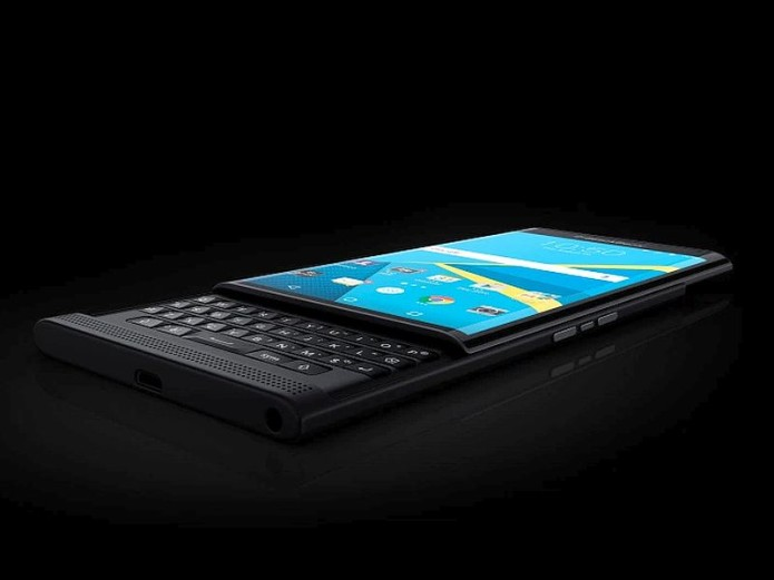 BlackBerry Priv simulator reveals Productivity Edge feature