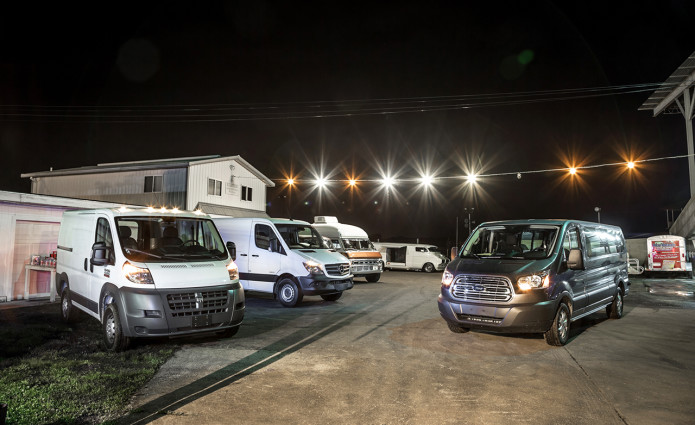 Ford Transit  Power Stroke Vs  Mercedes Benz Sprinter  Bluetec