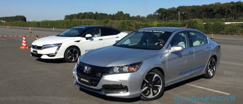 Driving Honda's Clarity Fuel Cell hydrogen car due March 2016