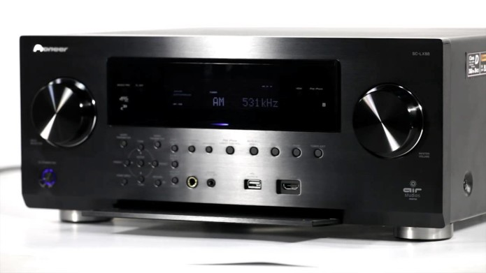 Pioneer SC-LX88 review