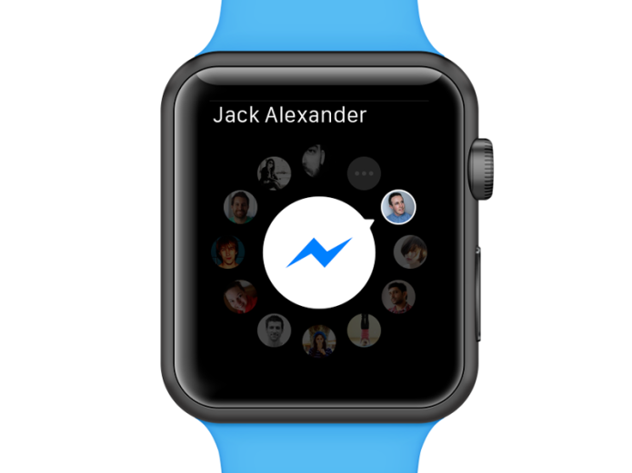 Facebook Messenger now available for Apple Watch