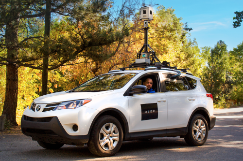 Uber starts its street mapping project