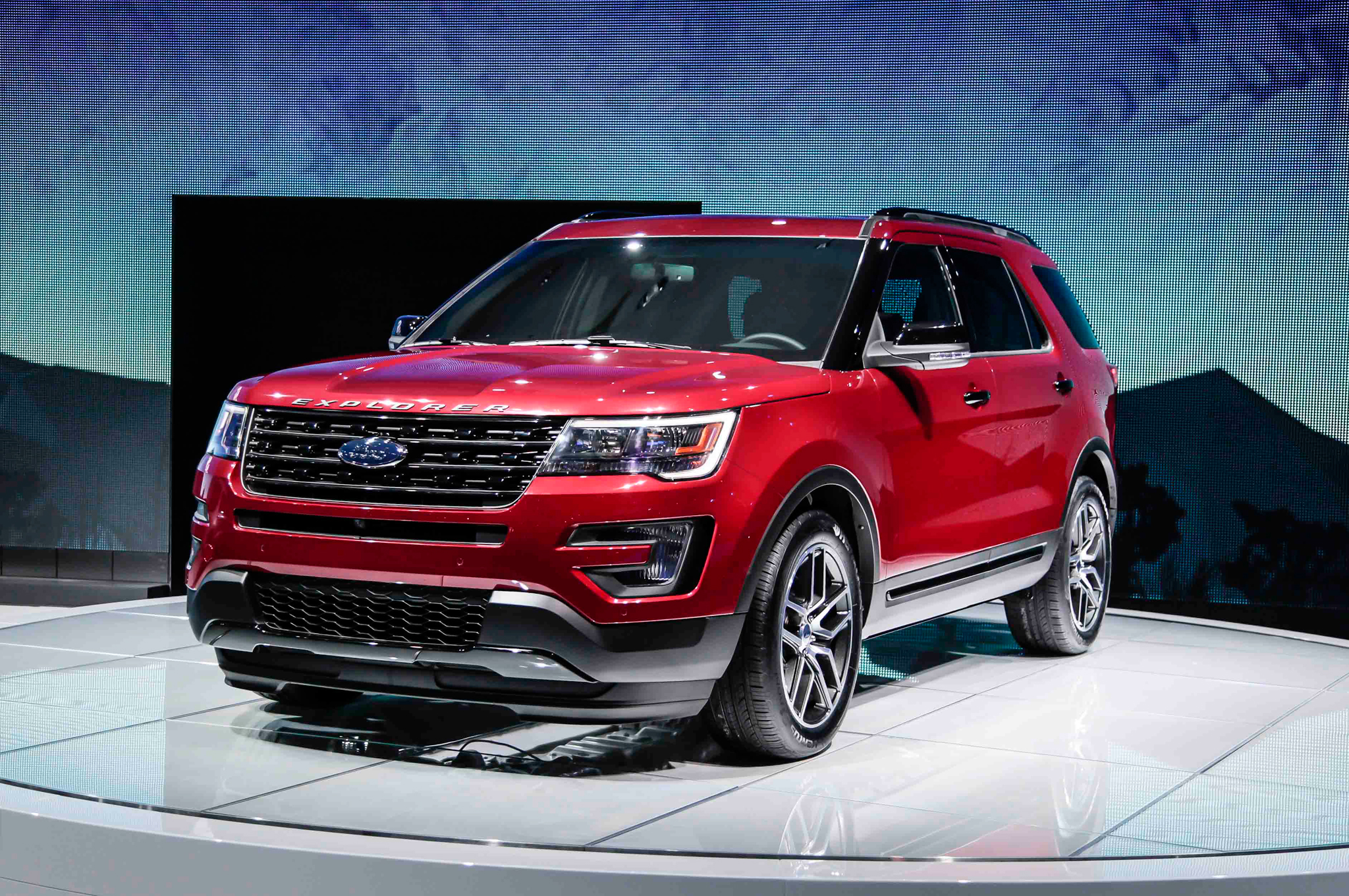 2016 Ford Explorer Review Road Tripping On The Bourbon