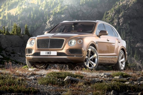 2017 Bentley Bentayga – First Drive Review : Bentley's first SUV skips the learning curve altogether.