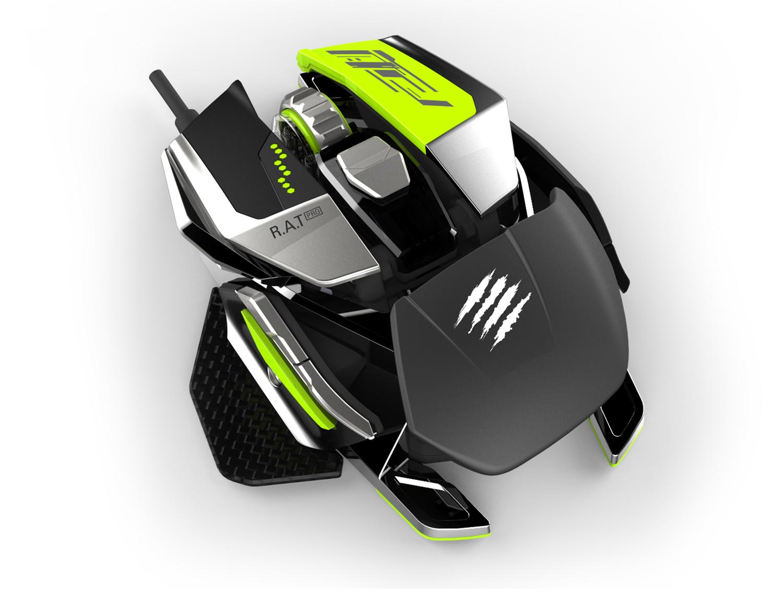 bolcom  Cyborg RAT 7 Gaming Muis Zwart PC