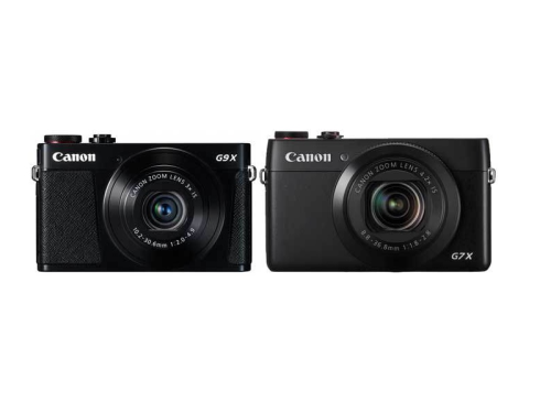 Canon G9 X vs Canon G7 X Specifications Comparison