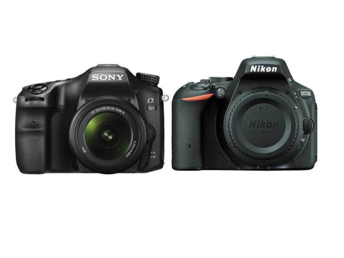 Sony A68 vs Nikon D5500 Specifications Comparison