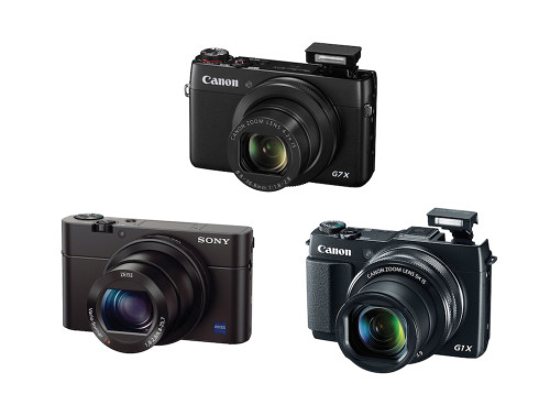 Canon PowerShot G7 X vs Sony RX100 III vs G1 X Mark II Specifications Comparison