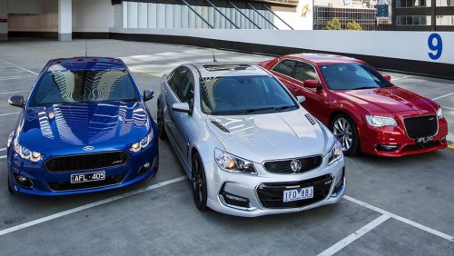 2015 Holden Commodore SS-V Redline, Chrysler 300 SRT and Ford Falcon XR8 review