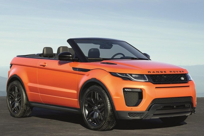 2017 Range Rover Evoque Convertible Yes They Really Made A Droptop Luxury Suv