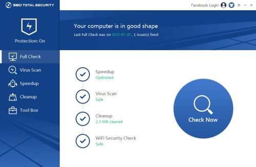 Qihoo 360 Total Security 2016 review: a whole security suite for free